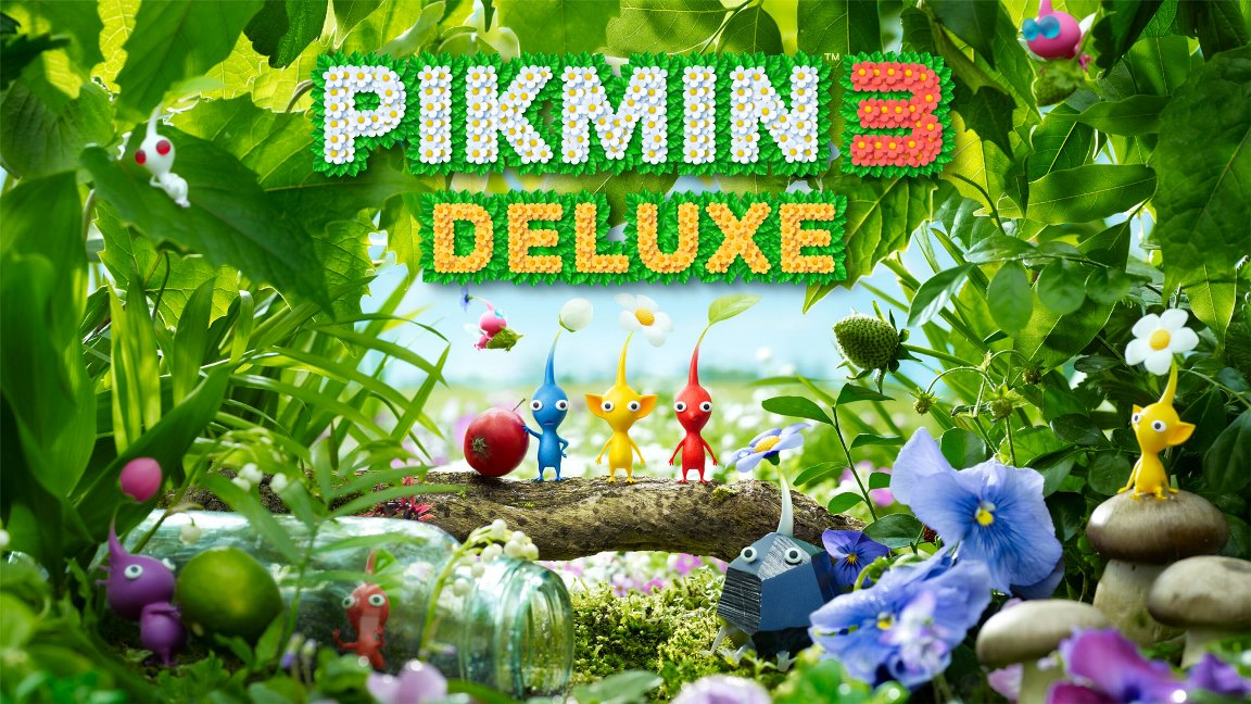 Pikmin 3 Deluxe For Nintendo Switch File Size Box Art My Nintendo News