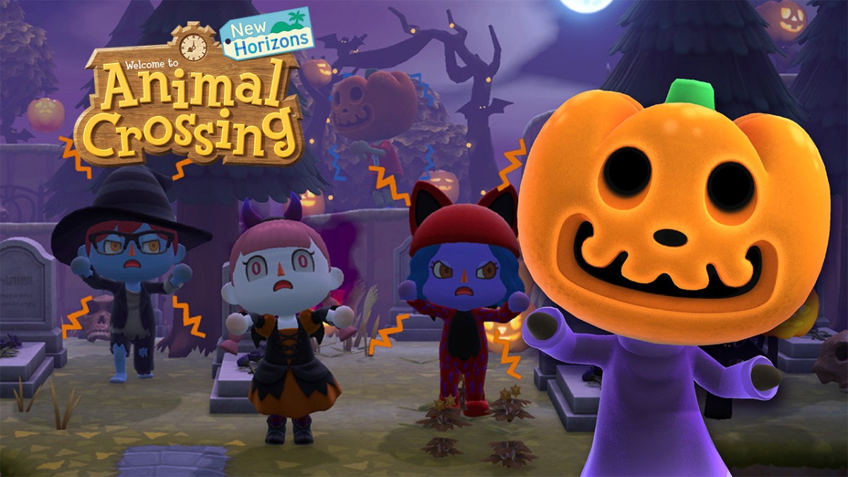 Animal Crossing New Horizons updated to version 1.5.0 – Halloween Event