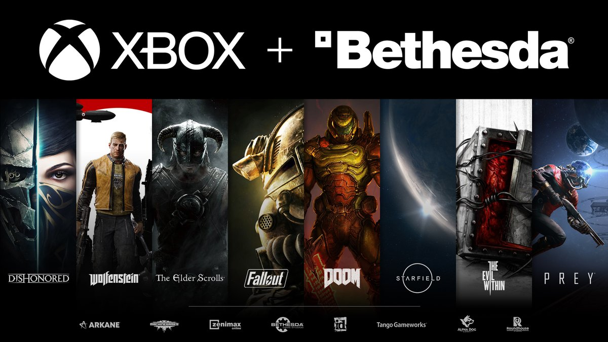 Bethesda was officially acquired by Microsoft for $7.5 billion