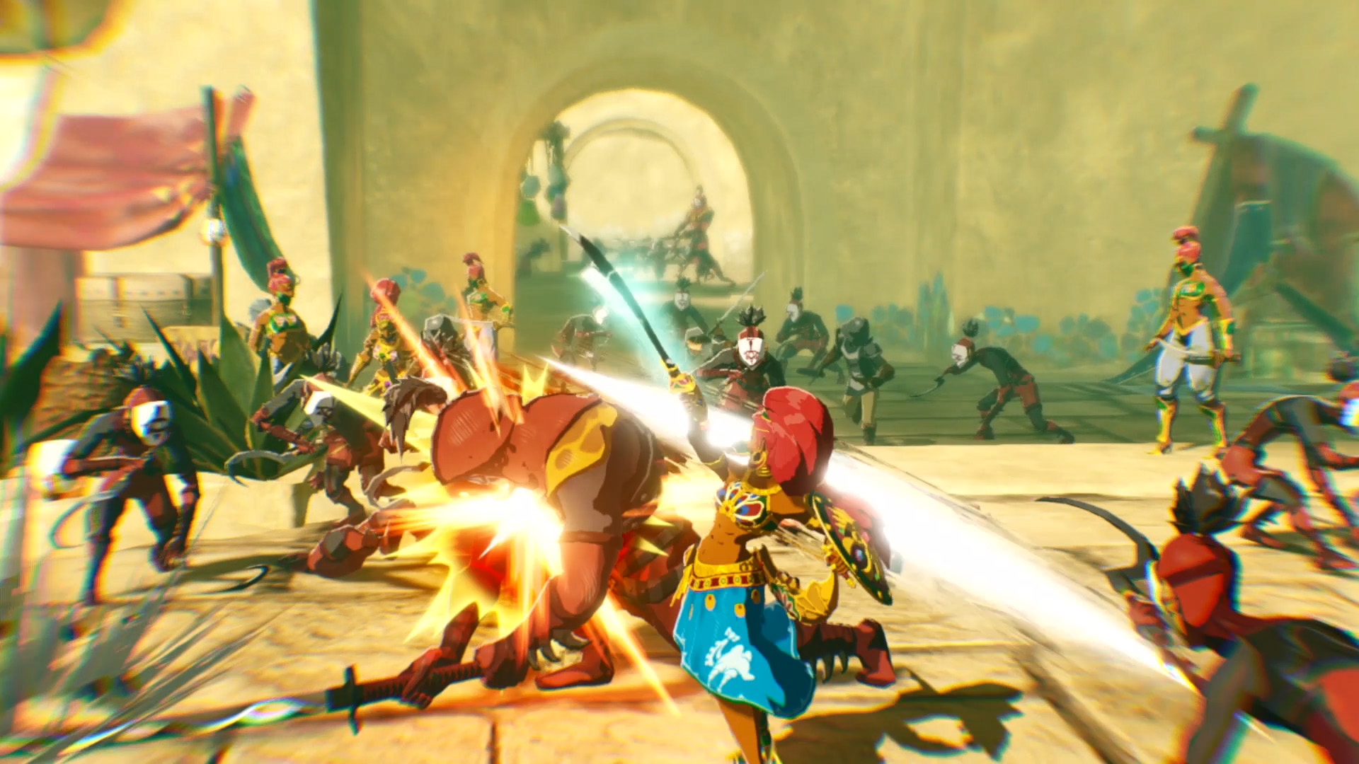 More Hyrule Warriors Age Of Calamity Details On 26th September My Nintendo News