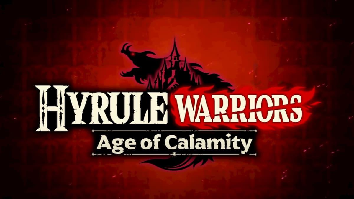 New Hyrule Warriors Age Of Calamity Trailer My Nintendo News