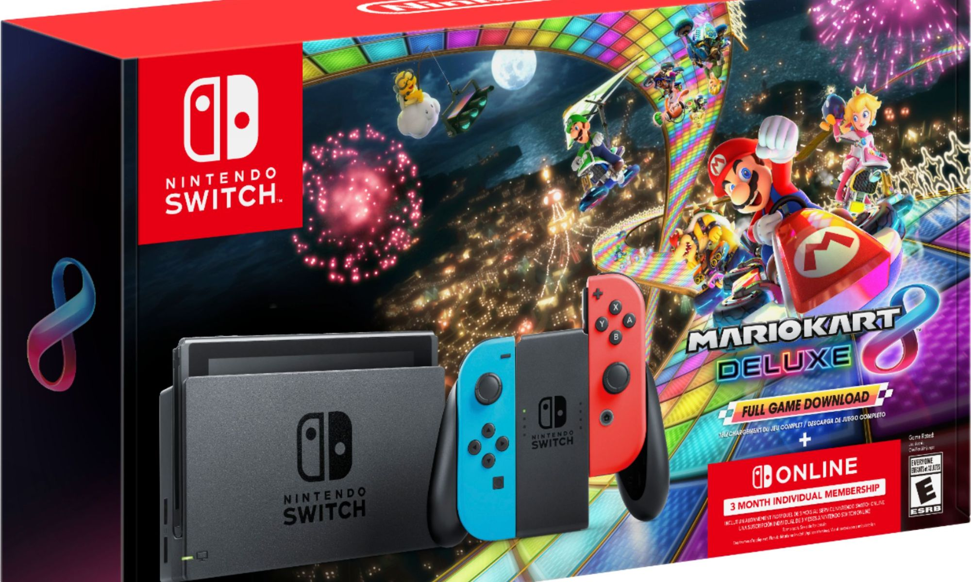 Black Friday 2020 The Mario Kart 8 Deluxe Switch Bundle Is Back For 299 And Includes 3 Months Switch Online My Nintendo News