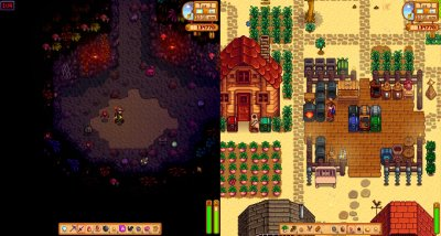 The Stardew Valley update will bring the desired split screen to the Nintendo Switch