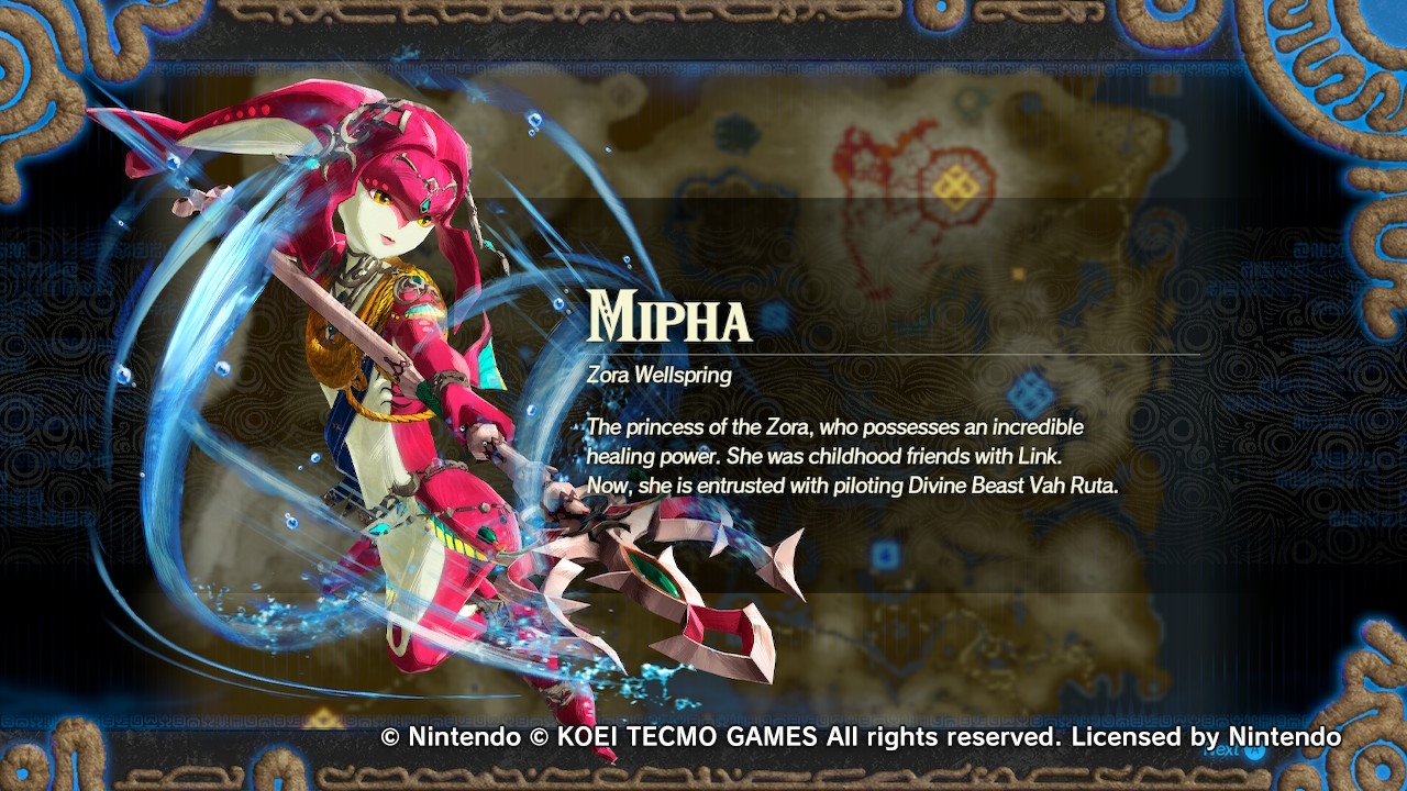 Nintendo Shares Teaser Of The Champion Mipha Music Track From Hyrule Warriors Age Of Calamity My Nintendo News
