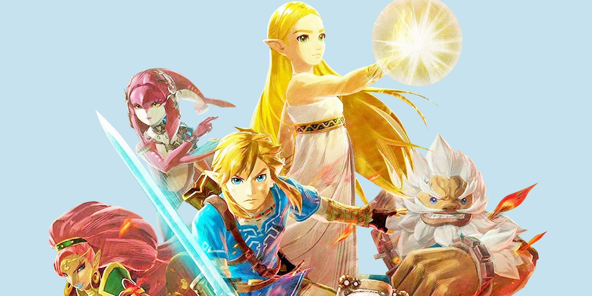 Koei Tecmo Talks About Development Of Hyrule Warriors Age Of Calamity My Nintendo News