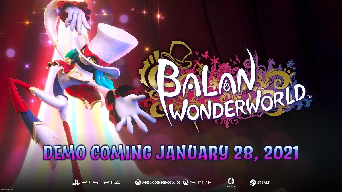Balan Wonderworld demo launches on Nintendo Switch 28th January