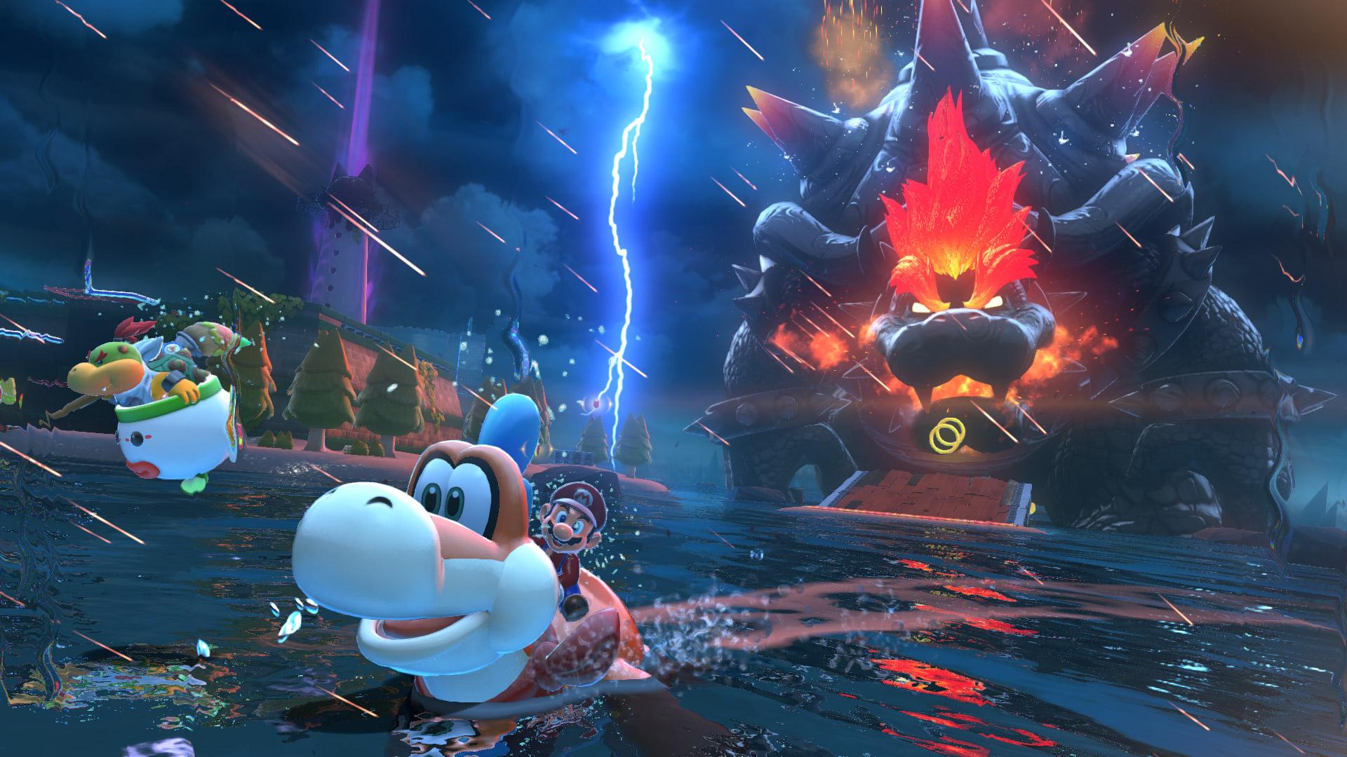 Nintendo uploads a bunch of new Super Mario 3D World + Bowser's Fury screenshots