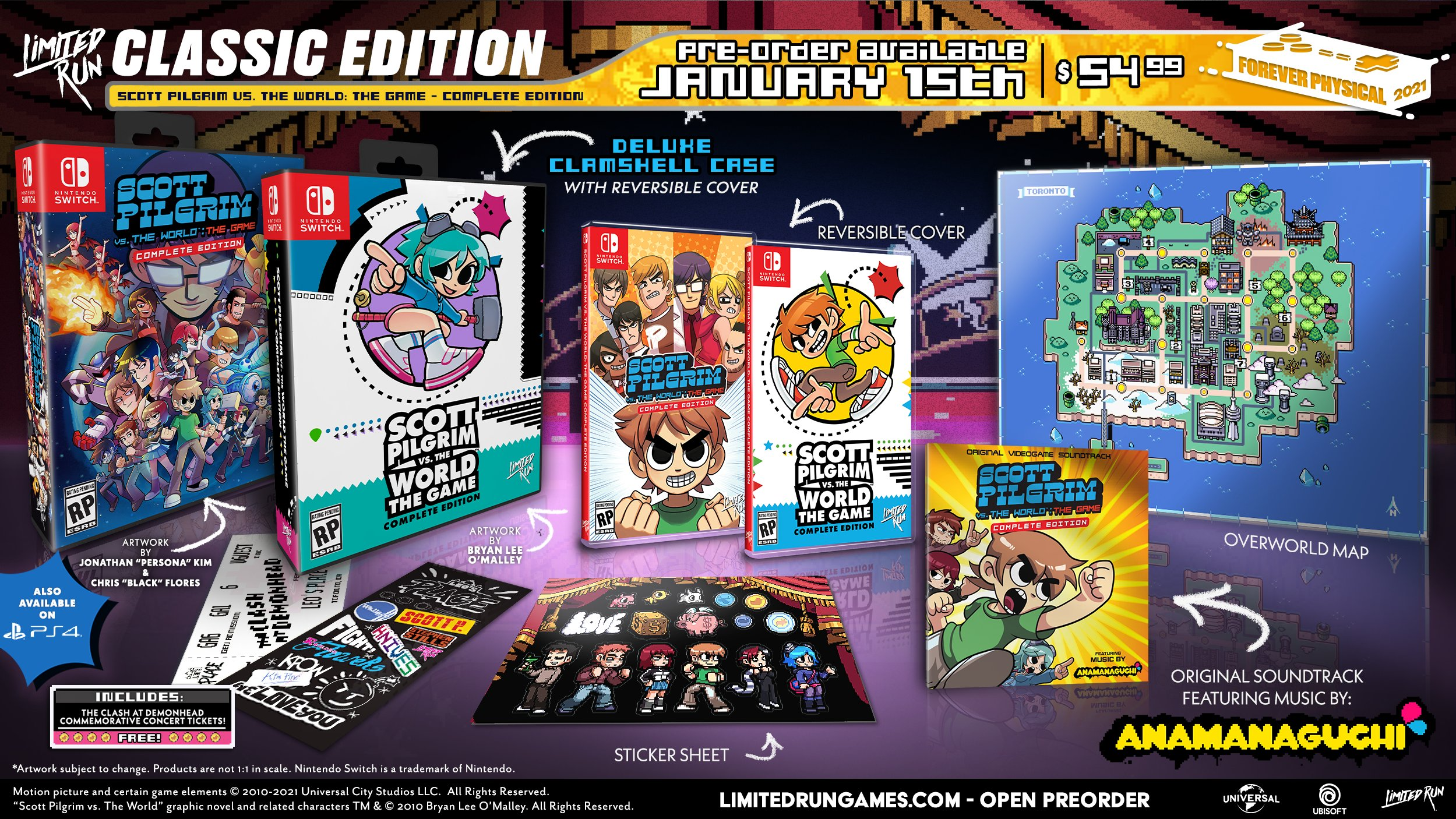 Scott Pilgrim Game Gets Physical Release From Limited Run!